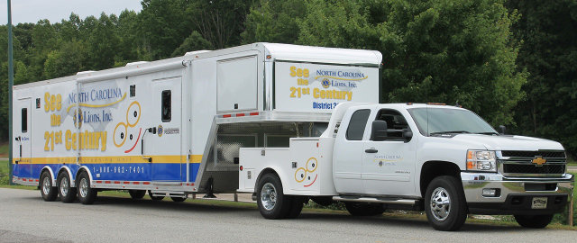 NC Lions Mobile Screening Unit