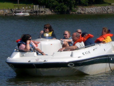 Summer at Camp Dogwood - Boating on the lake